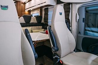 Dicar Cocoon Pilootstoelen cabine