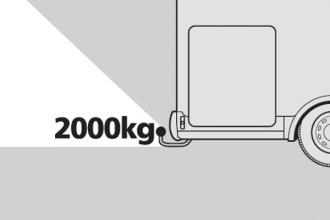 Dicar Cocoon Sleepvermogen van 2000 kg