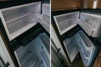 Dicar Cocoon Grote koelkast met apart vriesvak