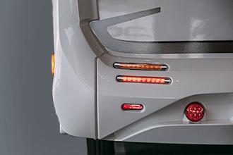 Dicar Cocoon ABS bumpers met hoge kolommen achter
