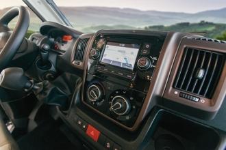 Dicar Cocoon High level radio GPS en achteruitrij camera