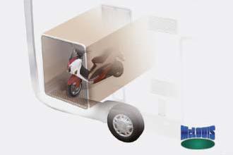 Dicar Cocoon Ruime garage voor fietsen